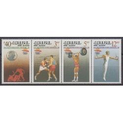 Arménie - 1992 - No 179/182 - Jeux Olympiques d'été