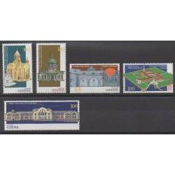 Arménie - 1997 - No 284/288 - Monuments