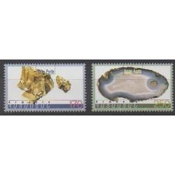 Arménie - 1998 - No 308/309 - Minéraux - Pierres précieuses