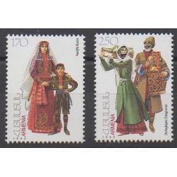 Arménie - 1999 - No 311/312 - Costumes