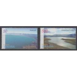Armenia - 2001 - Nb 389/390 - Sights - Europa
