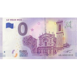Euro banknote memory - Le Vieux Nice - 2018-1 - Nb 3333