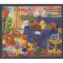Singapore - 2001 - Nb 1001/1010 - Animals