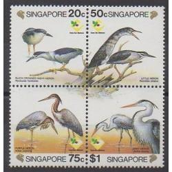 Singapour - 1994 - No 711/714 - Oiseaux - Philatélie