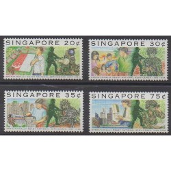 Singapore - 1994 - Nb 707/710