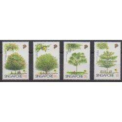 Singapore - 1996 - Nb 781/784 - Trees