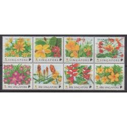 Singapour - 1998 - No 876/783 - Fleurs