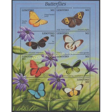 Lesotho - 2001 - No 1671/1678 - Papillons