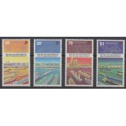 Singapore - 1989 - Nb 544/547 - Boats