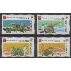 Singapour - 1988 - No 528A/528D - Histoire militaire