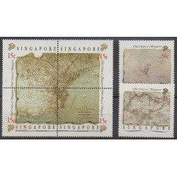 Singapore - 1989 - Nb 552/557