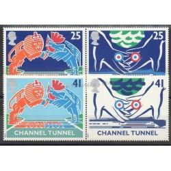 Great Britain - 1994 - Nb 1758/1761 - Trains