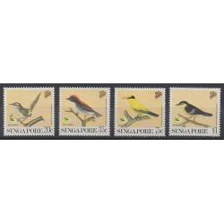 Singapour - 1991 - No 615/618 - Oiseaux