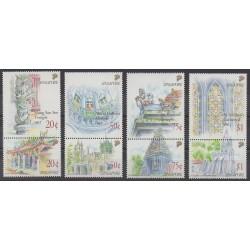 Singapore - 1991 - Nb 598/605 - Religion