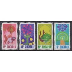 Singapore - 1972 - Nb 156/159