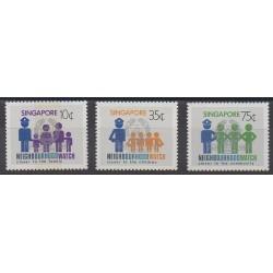 Singapore - 1983 - Nb 418/420