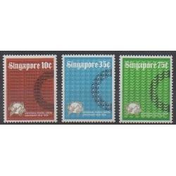 Singapour - 1974 - No 211/213 - Service postal