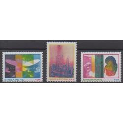 Singapour - 1975 - No 228/230 - Sciences et Techniques