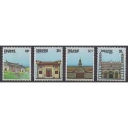 Singapore - 1984 - Nb 436/439 - Architecture
