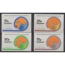 Singapour - 1986 - No 497/500 - Sciences et Techniques