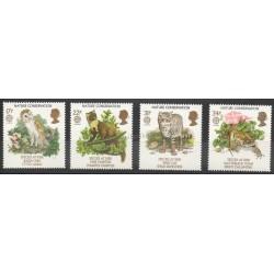 Grande-Bretagne - 1986 - No 1222/1225 - Environnement