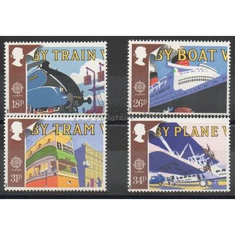 Grande-Bretagne - 1988 - No 1311/1314 - Transports