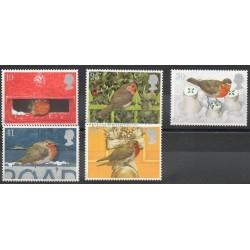 Grande-Bretagne - 1995 - No 1842/1846 - Oiseaux