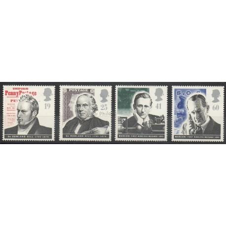 Grande-Bretagne - 1995 - No 1833/1836 - Sciences et techniques