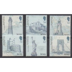 Jersey - 2014 - Nb 1930/1935 - Lighthouses - Monuments