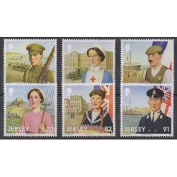 Jersey - 2014 - No 1916/1921 - Première Guerre Mondiale