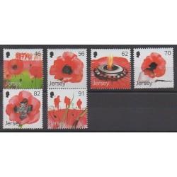 Jersey - 2014 - No 1888/1893 - Première Guerre Mondiale