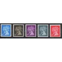 Great Britain - 1990 - Nb 1434/1438