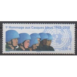 France - Poste - 2018 - No 5220 - Nations unies
