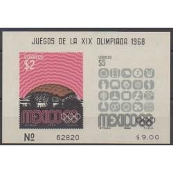 Mexique - 1968 - No BF17 - Jeux Olympiques d'été