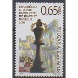 Bulgarie - 2003 - No 3984 - Échecs