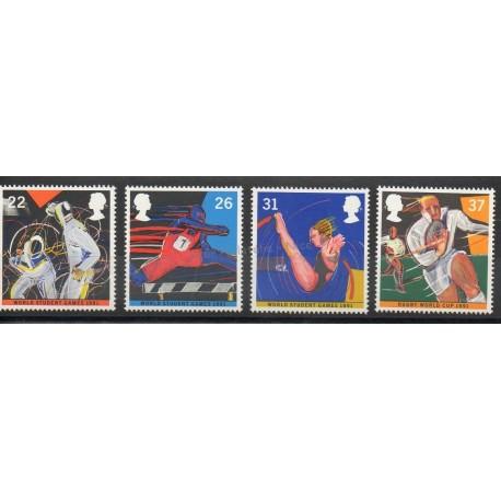 Grande-Bretagne - 1991 - No 1547/1550 - Sport