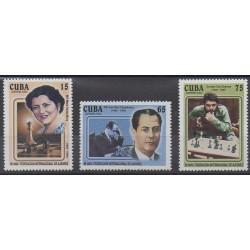 Cuba - 2004 - No 4173/4175 - Échecs