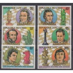 Tchad - 1982 - No 399J/399N - PA268/PA269 - Échecs