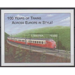 Liberia - 2001 - Nb BF375 - Trains