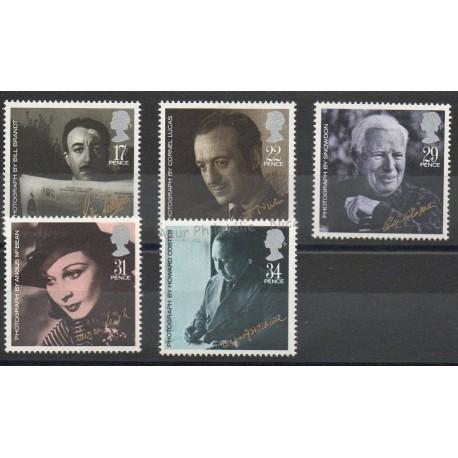 Grande-Bretagne - 1985 - No 1195/1199 - Cinéma
