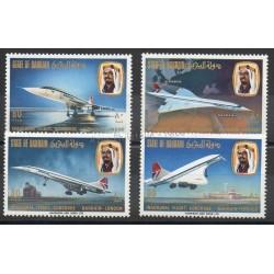 Bahreïn - 1976 - No 241/244 - Avions