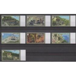 Gibraltar - 2017 - No 1819/1825 - Parcs et jardins