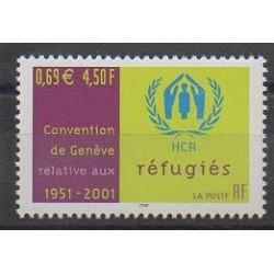 France - Poste - 2001 - No 3416 - Droits de l'Homme