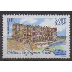 France - Poste - 2001 - Nb 3415 - Castles