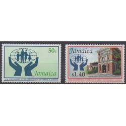 Jamaïque - 1992 - No 820/821 - Histoire
