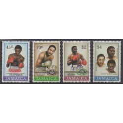 Jamaïque - 1986 - No 651/654 - Sports divers