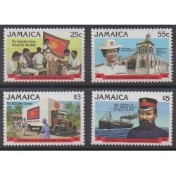 Jamaïque - 1987 - No 691/694 - Santé ou Croix-Rouge