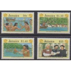 Jamaica - 1991 - Nb 800/803 - Christophe Colomb