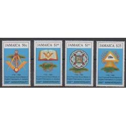 Jamaica - 1992 - Nb 804/807 - Various Historics Themes