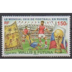 Wallis et Futuna - 2018 - No 887 - Coupe du monde de football